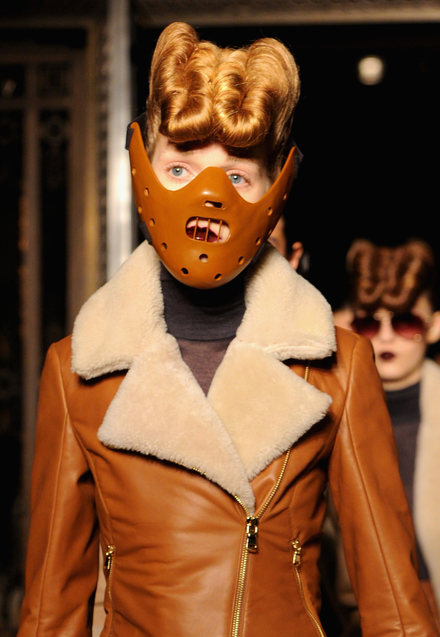 These Hannibal Lecter Masks are Proof of How Crazy Fashion Week Really is