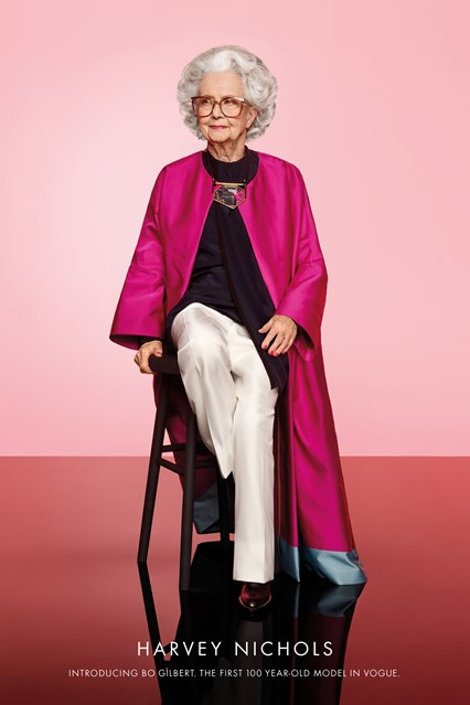 'Vogue' Will Feature Its First 100-Year-Old Model Bo Gilbert In Centennial Issue
