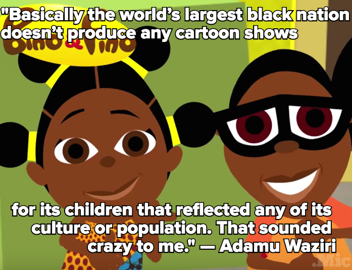 This Nigerian Animator Is Bringing Black Characters to Brazilian Children's Television