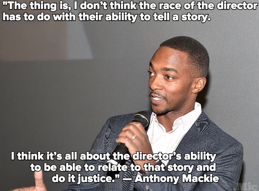 'The Avengers' Anthony Mackie Says 'Black Panther' Doesn't Need a Black Director