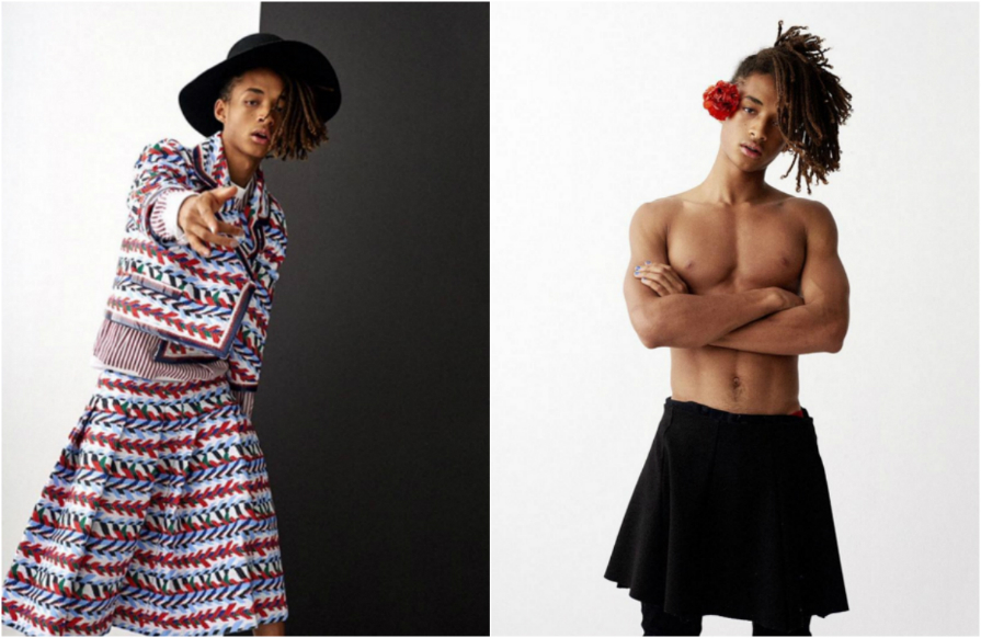 What Our Obsession With Jaden Smith's Stunning Gender Fluid Photos Says About Us