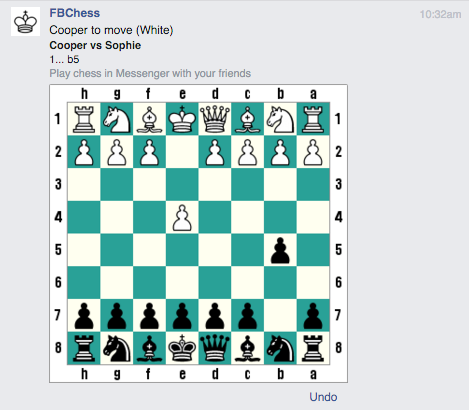 How to Play the Secret Game of Chess in Facebook Messenger
