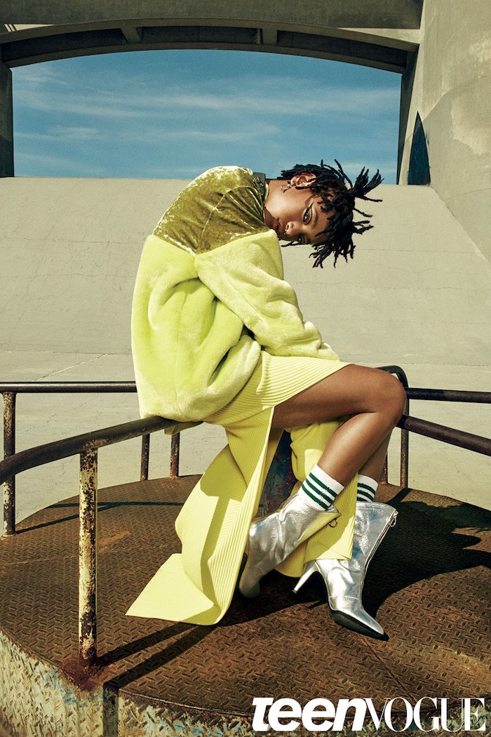 Willow Smith's Mind Blown Over the Fact That She's a Chanel Ambassador With Dreads