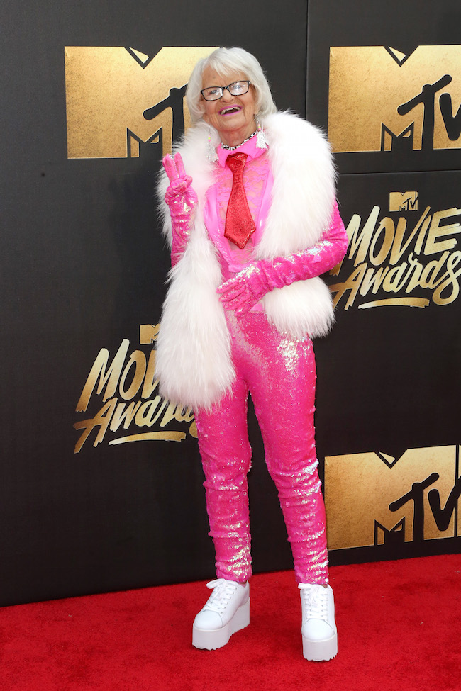 Baddie Winkle Had the Best Outfit of the MTV Movie Awards That Didn't Get Enough Credit