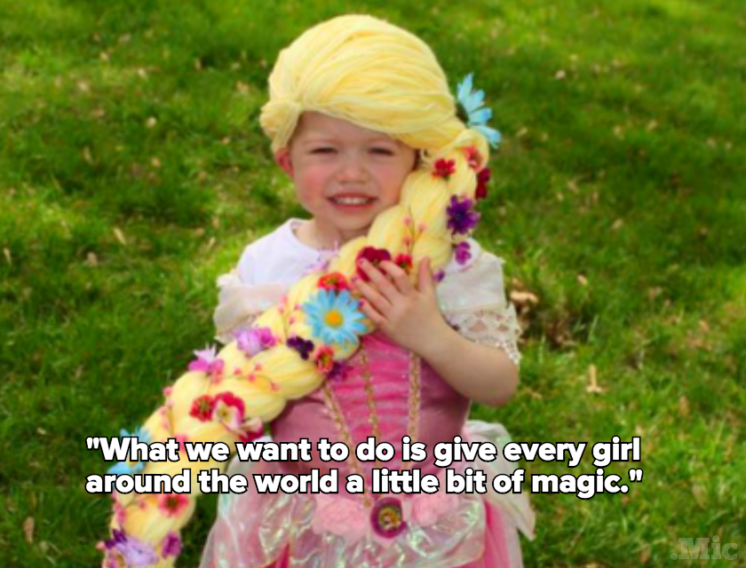 Meet the Alaska Mom Who Makes Disney Princess Wigs for Kids With Cancer