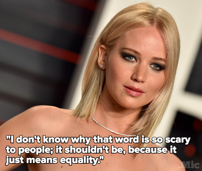 Jennifer Lawrence Is Just as Baffled by People Who Hate on Feminism as You Are