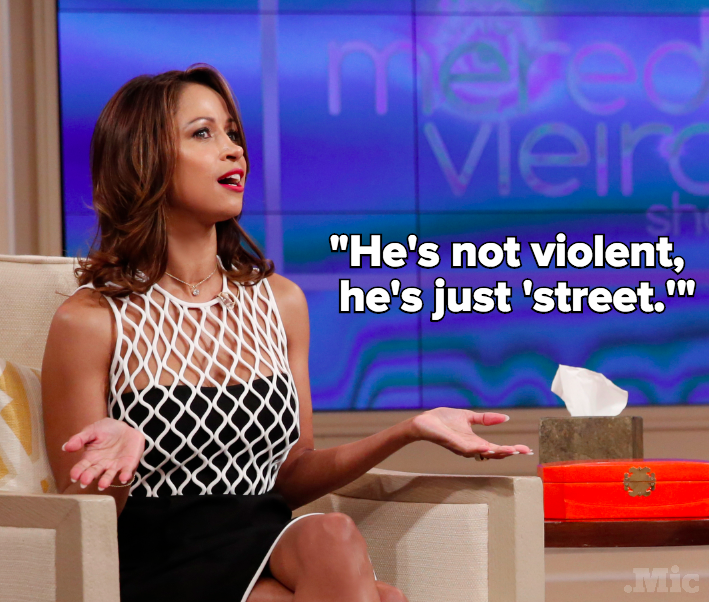 "Stacey Dash Says Donald Trump Isn't Violent, He's Just ""Street"""