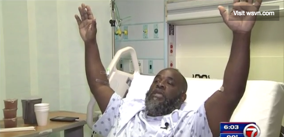 New Video Shows Black Man Charles Kinsey Telling Police He's Unarmed Before Being Shot
