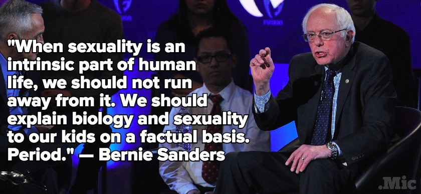Bernie Sanders Is the Sex-Positive Grandpa You Wish You Had