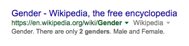 "This Search Result for ""How Many Genders Are There"" Was So Toxic, Google Removed It"