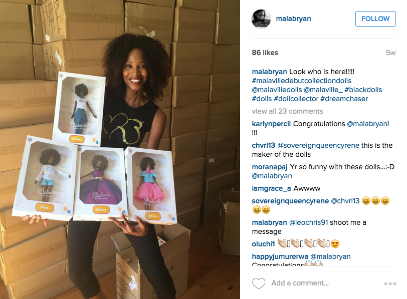 This Model Is Making Black Dolls With Natural Hair to Make Point About Diversity
