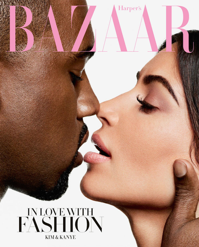Kim Kardashian and Kanye West Cover 'Harper's Bazaar' Icon Issue; Give Best Interview Ever