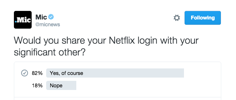 Take Your Relationship to the Next Level by Sharing Your Netflix Password