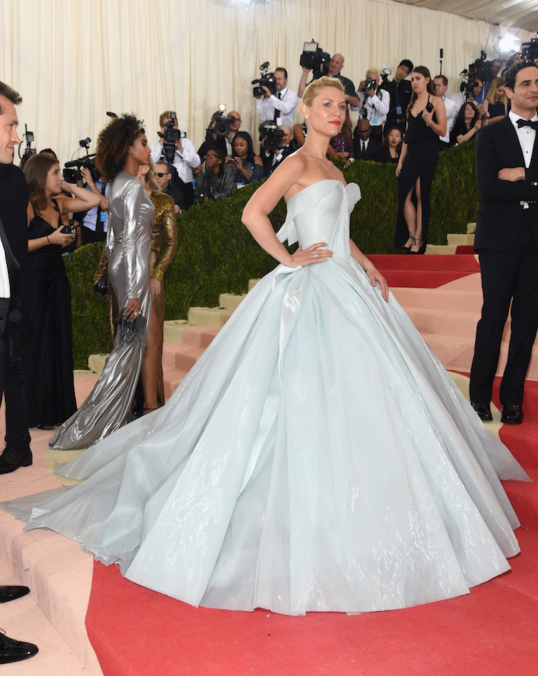 Before the Met Gala Even Began, the Internet Was Smitten With Claire Danes' Light-Up Gown