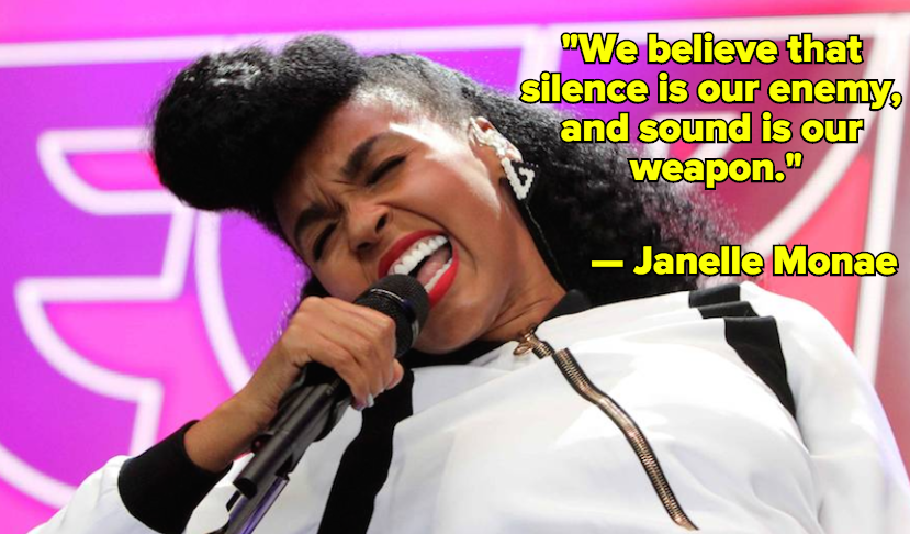 "Janelle Monae on #BlackLivesMatter and Meaning Behind Her Song ""Hell You Talmbout"""