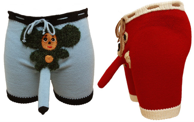 Transform Your Genitals Into Stuffed Animals With These Hand-Knit, Glorified Cock Socks