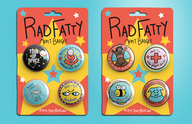 "This Woman Is Fighting Fat-Shaming With These Awesome, Girl Scout-Inspired ""Fatty"" Badges"
