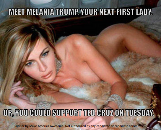 Anti-Donald Trump Ads Criticize Melania Trump for Nude Photos in Bid for Utah's Voters
