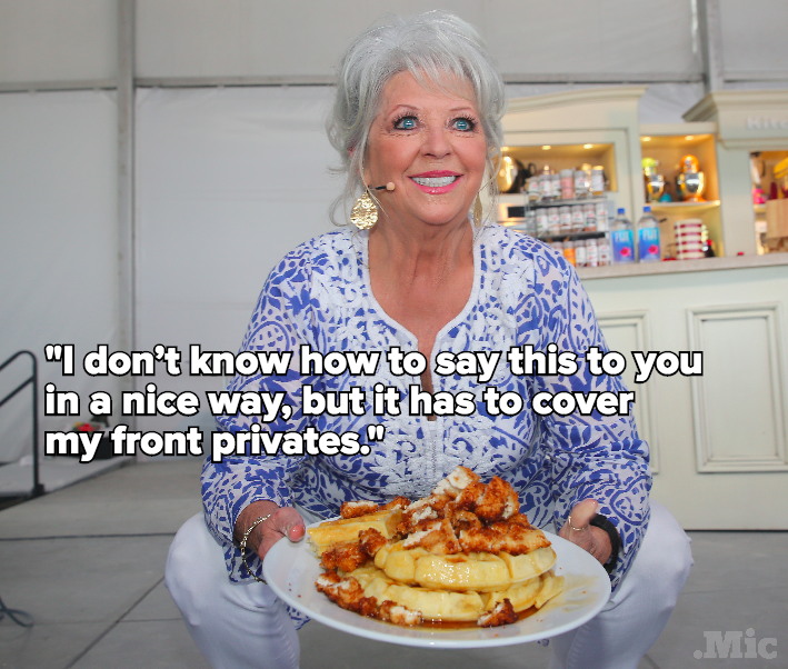 "All Paula Deen Wants From Her Clothing Line Is For It To ""Cover [Her] Front Privates"