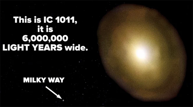 Experience How Small Our Entire Galaxy Is in One Mind-Blowing Image
