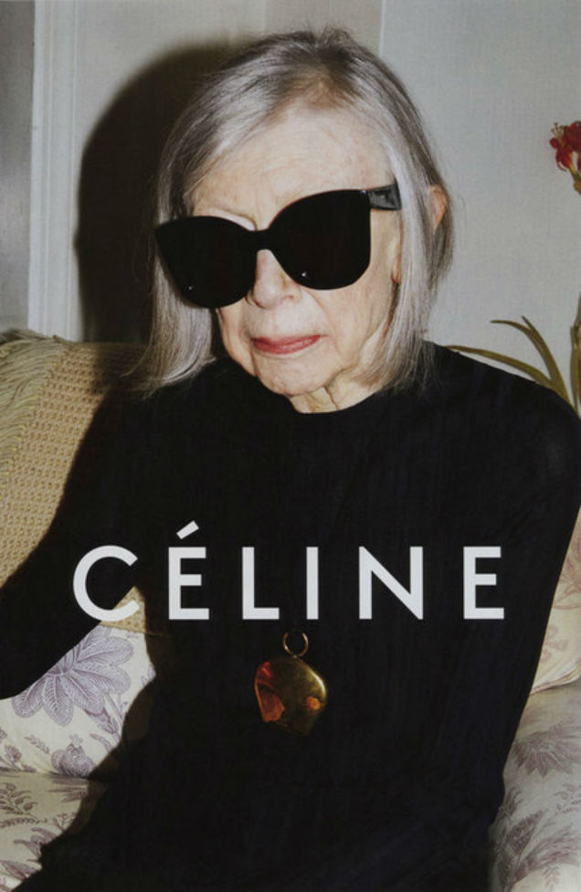 Joan Didion Just Showed Everyone What a Fashion Ad Should Really Look Like