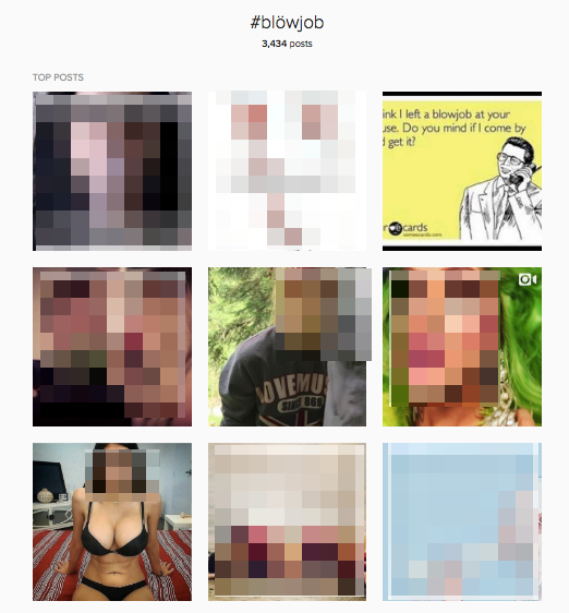 The Best NSFW Instagram Hashtags Use Special Characters to Hide Porn. Enjoy!