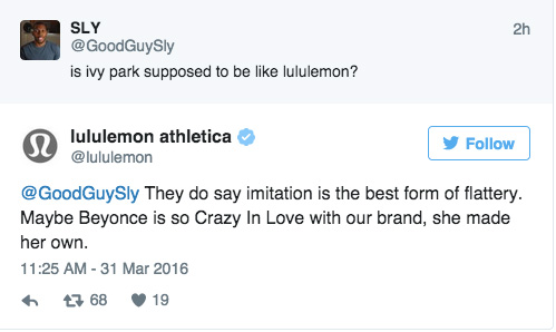Lululemon Made a Dig At Beyoncé — And the Beyhive Clapped Back With a Vengeance