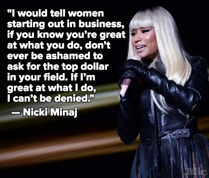 "Nicki Minaj Says Women Should Be ""Unapologetic"" About Getting Their Money"