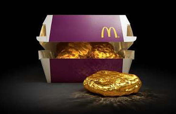 One McDonald's Contestant Will Win an 18-Karat Gold McNugget