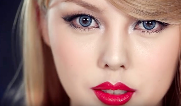 Watch This South Korean Beauty Blogger Transform Herself into Taylor Swift