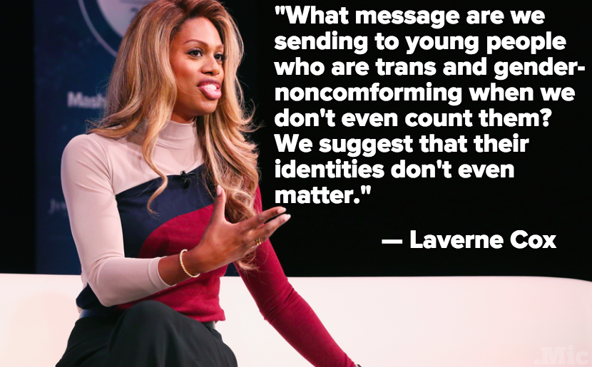 Laverne Cox Calls for Transgender People to Be Counted Differently in Census Reporting