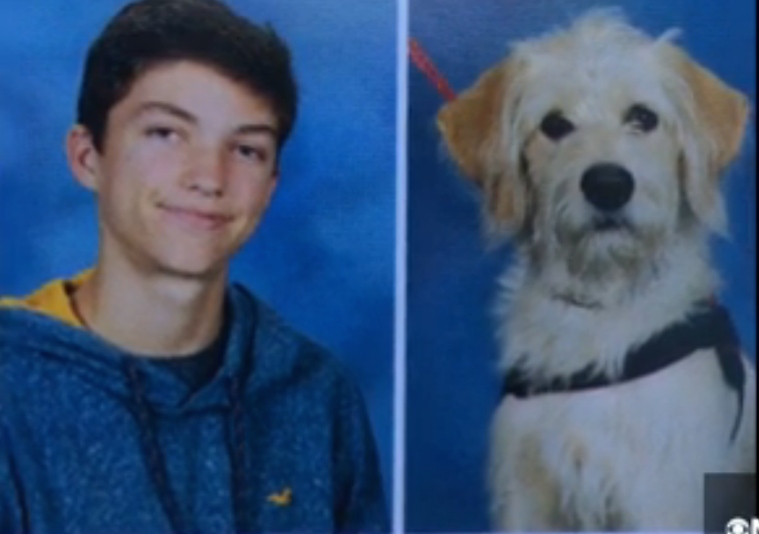 Service Dog Earns Portrait in High School Yearbook