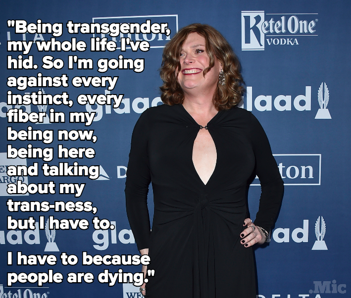 "Lilly Wachowski Opens Up About Her Transition: ""I Have to Because People Are Dying"""