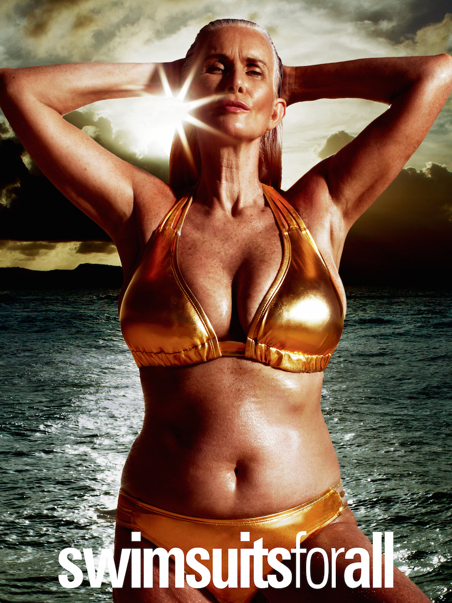 This Ad With a 56-Year-Old Model Is Making 'Sports Illustrated' Swimsuit History