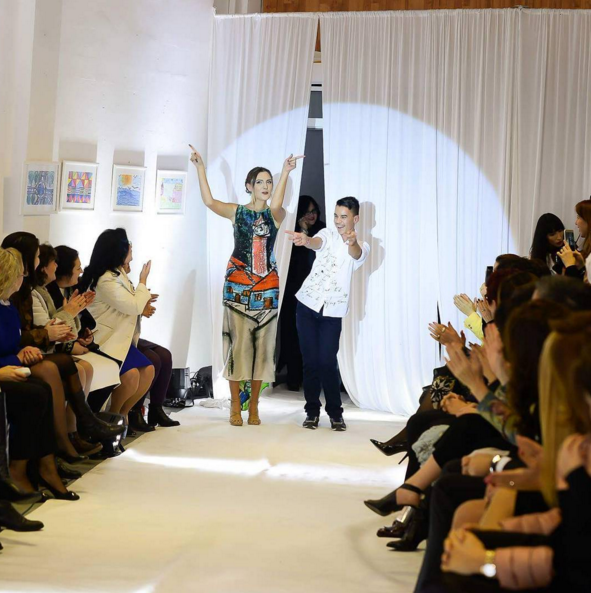 Deaf Children's Drawings Turned Into Clothes for What Might Be Sweetest Fashion Show Ever