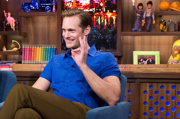 Alexander Skarsgard Perfectly Sums Up the Reason Why Every Straight Man Should Don Drag