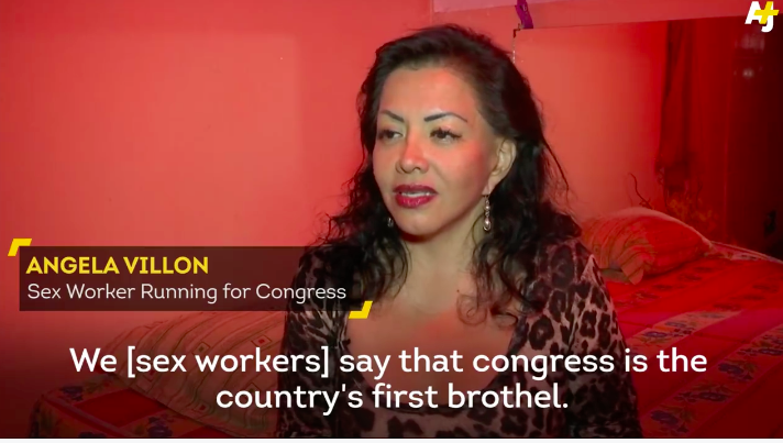 This Sex Worker Just Destroyed Peru's Congress in the Best Way Ever