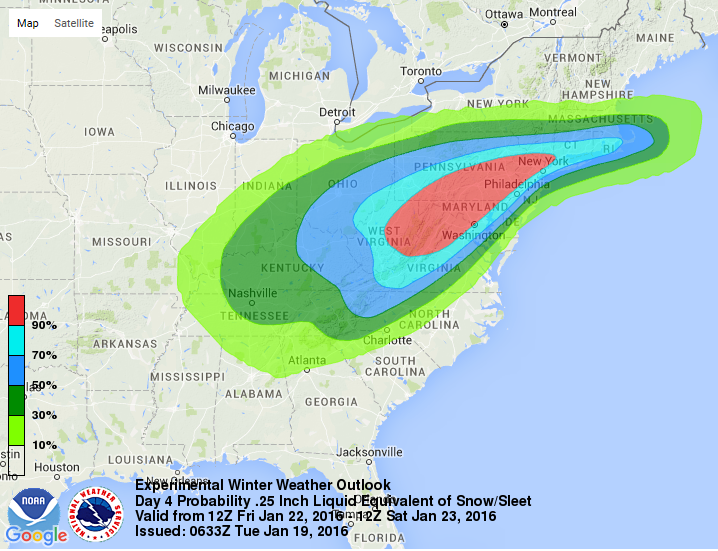 Winter Storm Snow Total Predictions Are Freaking Everyone Out and Ruining Plans
