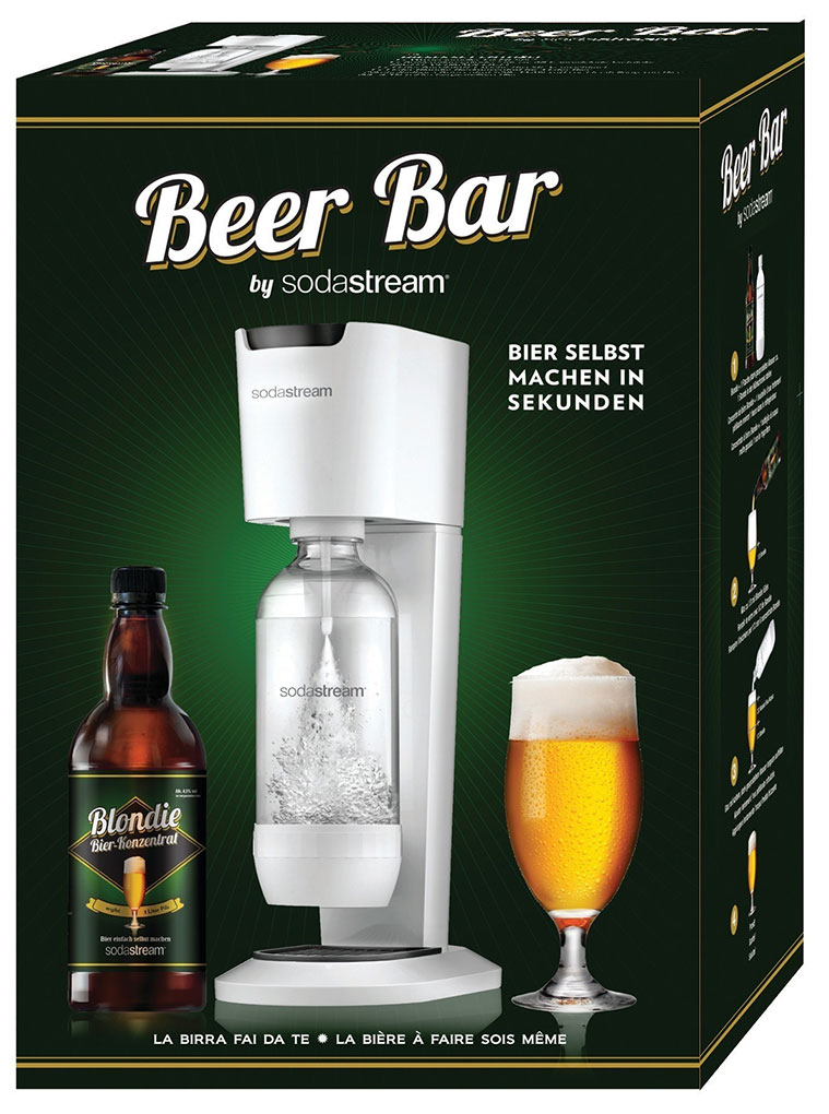 You Can Now Brew Your Own Beer In A SodaStream