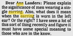 The Ongoing Divisiveness Surrounding Men Who Wear Earrings