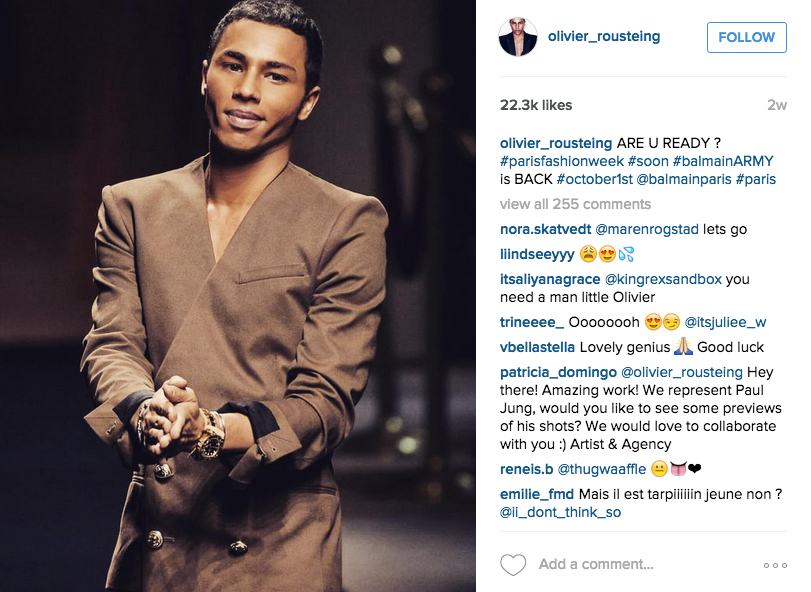 There's a Reason to Get Psyched for H&M's New Collection, and His Name's Olivier Rousteing