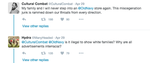This Old Navy Ad Featuring an Interracial Family Is Being Attacked By Racist Trolls