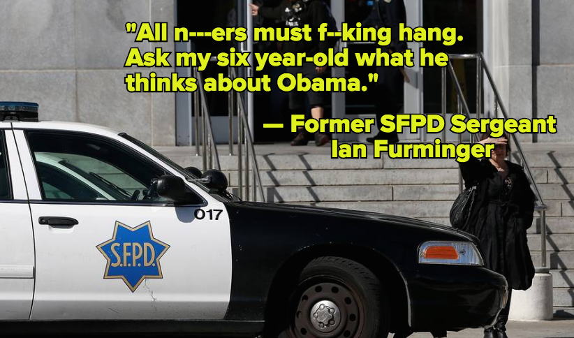 San Francisco Officers Who Sent Racist Texts Won't Be Disciplined