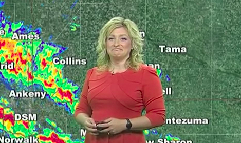 Weatherwoman Getting Accosted by Windows 10 Update Pop-Ups Is All of Us