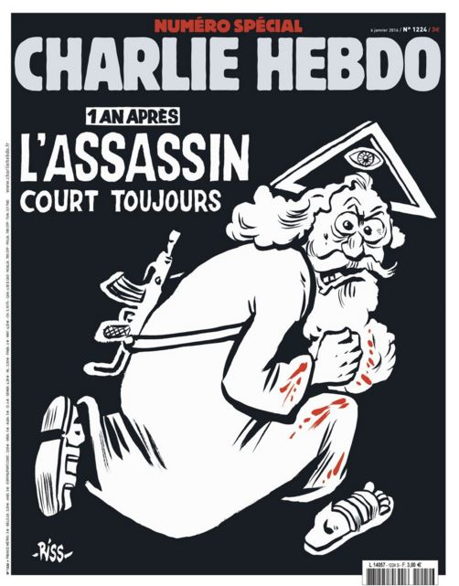 'Charlie Hebdo' Marks One Year Since Massacre With This Latest Provocative Cover