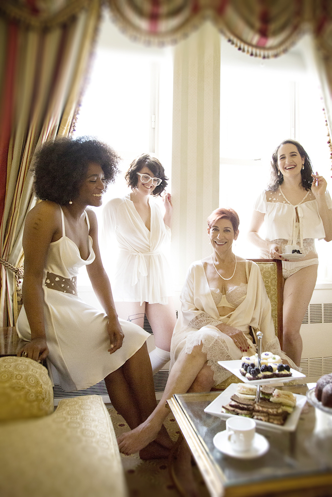 "This Beautifully Diverse ""Tea Party"" Shows What Lingerie Ads Could Look Like"