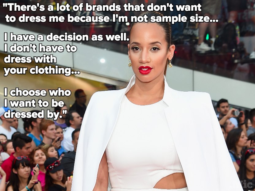 Dascha Polanco Has a Message to the Clothing Brands That Only Make Small Sizes