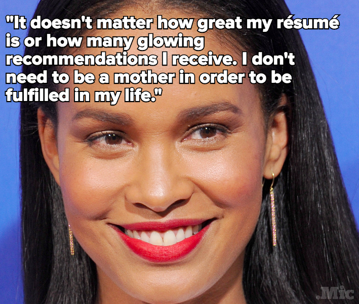 Joy Bryant Sums Up Why Everyone Should STFU About Women Not Having Kids