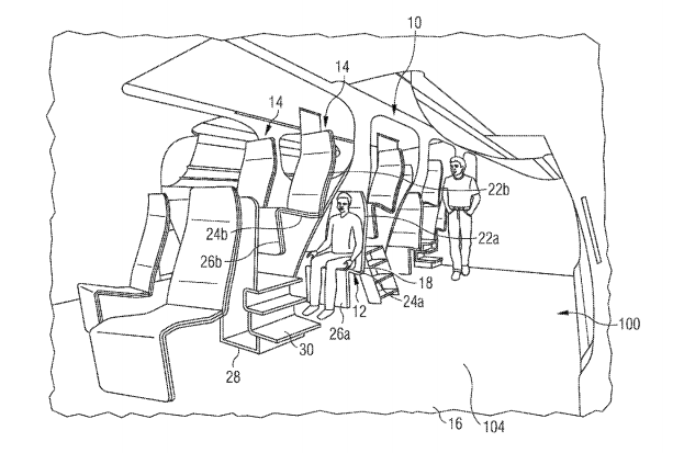 The New Airplane Seats From Hell Could Get You Kicked in the Head by Your Neighbors
