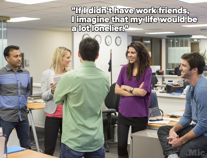 Here's Why Your Work Friends Are Some of the Most Important Friends You Have